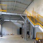 Soppalco per capannone industriale