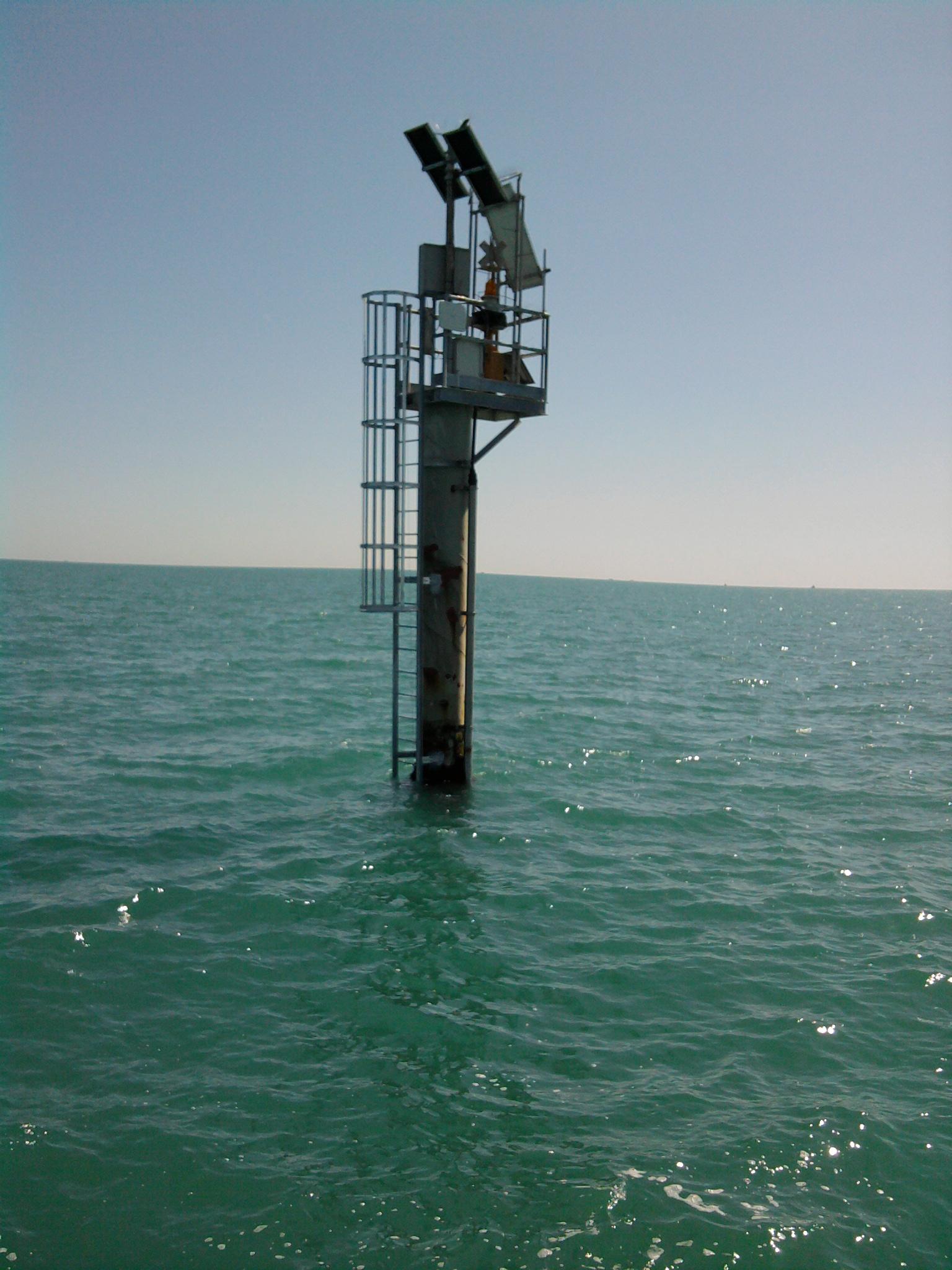 Apparecchi per rilievi mareografici