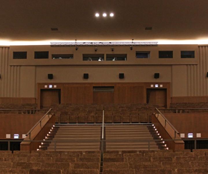 Sala Grande Palazzo del Cinema di Venezia
