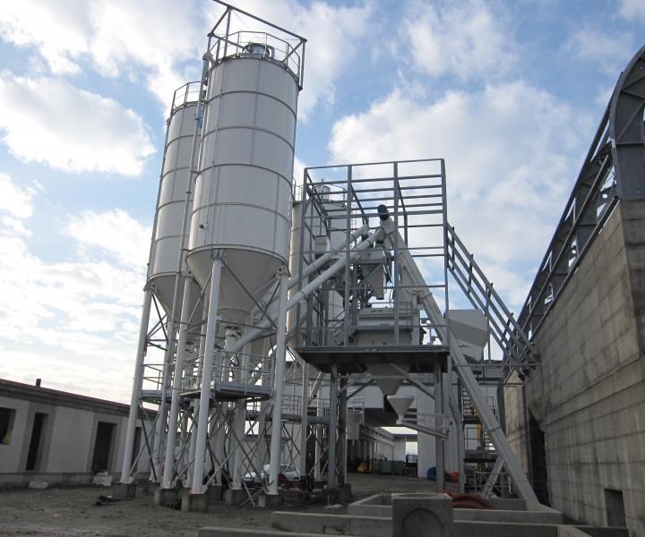 Impianto cisterne additivi